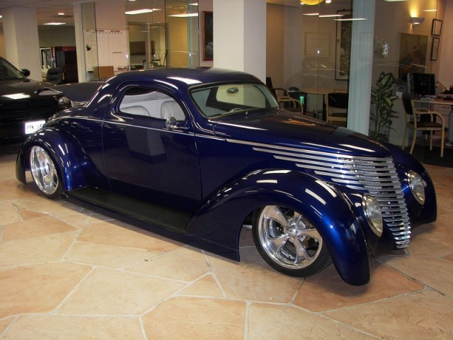 1937 Ford Coupe OZE Body Show Car