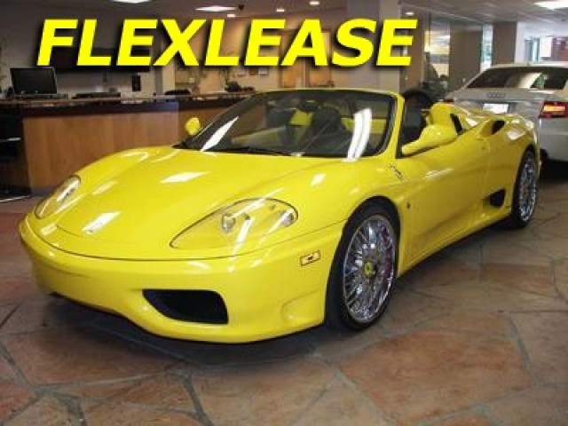 Used 2002 Ferrari 360 Modena Spyder For Sale 1283
