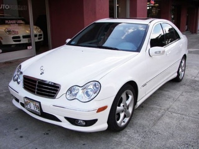 2005 mercedes benz c230 kompressor sport sedan honolulu for 2005 mercedes benz c230 kompressor